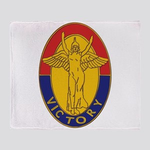 DUI - 1st Infantry Division Throw Blanket