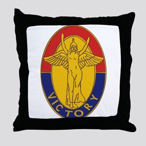 DUI - 1st Infantry Division Throw Pillow