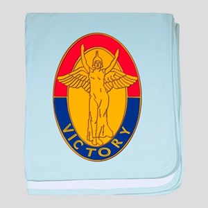 DUI - 1st Infantry Division baby blanket