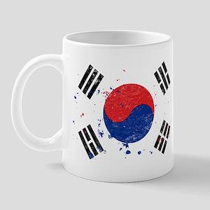 South Korean Flag (Punk) Mug