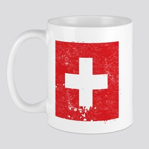 Swiss Flag (Punk) Mug