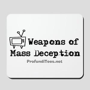 TV Mass Deception Mousepad