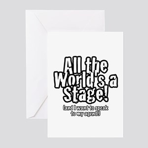 """ATW """"Agent"""" Greeting Cards (Pk of 10)"""