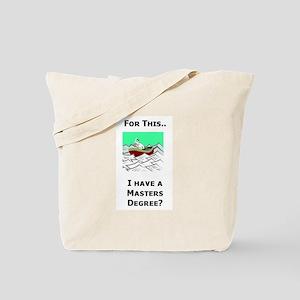 Paperwork Nightmare Tote Bag