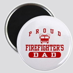 Proud Firefighter's Dad Magnet