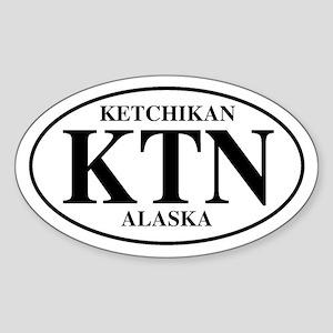 Ketchikan Oval Sticker
