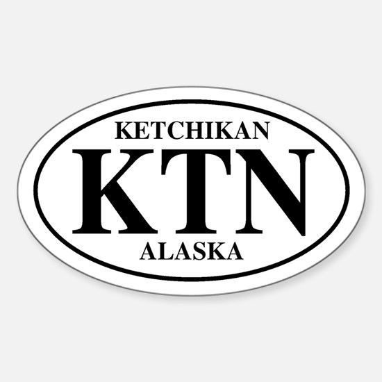 Ketchikan Oval Decal