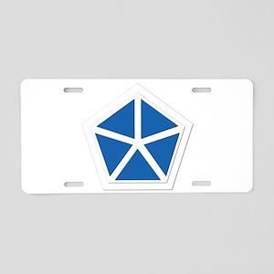 SSI - V Corps Aluminum License Plate