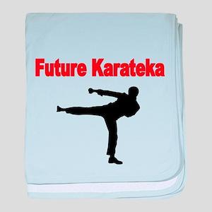 Future Karateka baby blanket