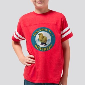 retirement gifts 2 Youth Football Shirt