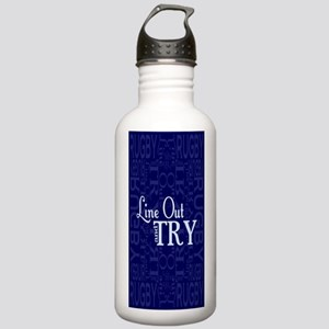 Line Out and Try Rugby Stainless Water Bottle 1.0L