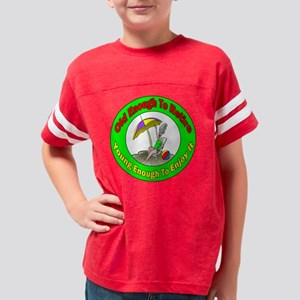 retirement gifts 19 Youth Football Shirt