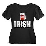 100 Proof Irish Plus Size T-Shirt