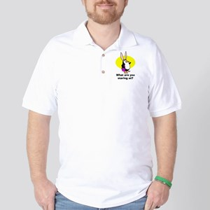Easter Penguin Golf Shirt