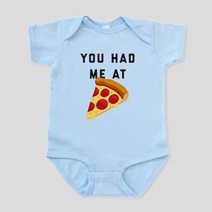 You Had Me At Pizza Emoji Infant Bodysuit