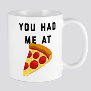 You Had Me At Pizza Emoji 11 oz Ceramic Mug