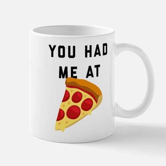 You Had Me At Pizza Emoji Mug