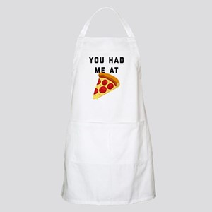 You Had Me At Pizza Emoji Light Apron