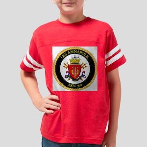 Annapolis-SSN-760 Youth Football Shirt