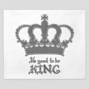 Good to be King King Duvet