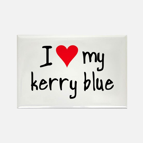 I LOVE MY Kerry Blue Rectangle Magnet