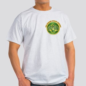 DUI - 3rd Cavalry Rgt with Text Light T-Shirt