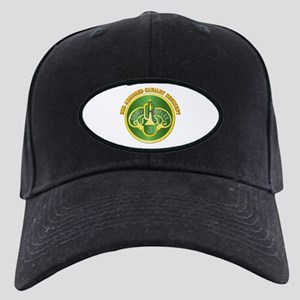 DUI - 3rd Cavalry Rgt with Text Black Cap