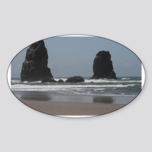 Cannon Beach Sticker (Oval)