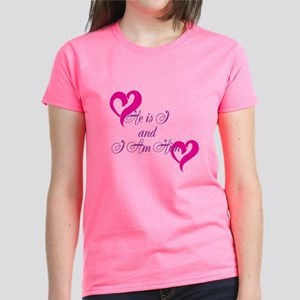 He Is I And I Am Him Women's Dark T-Shirt