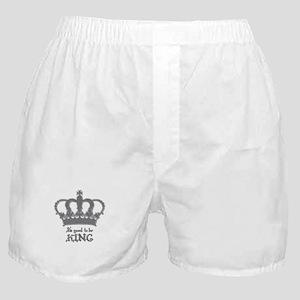 Good to be King Boxer Shorts