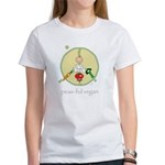peas-ful vegan Women's T-Shirt