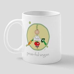 Peas-ful Vegan Mug