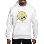 peas-ful vegan Hooded Sweatshirt