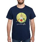peas-ful vegan Dark T-Shirt