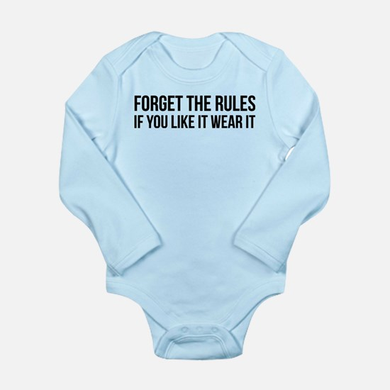Forget the rules Body Suit
