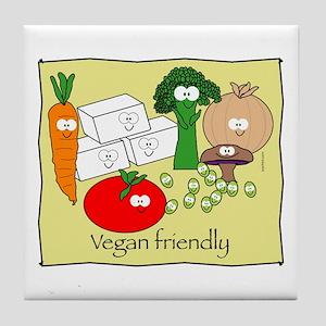 Vegan friendly Tile Coaster