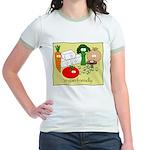 Vegan friendly Jr. Ringer T-Shirt