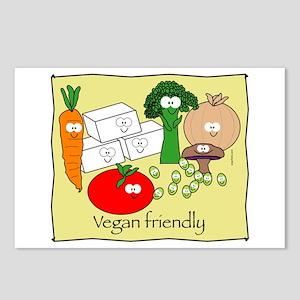 Vegan friendly Postcards (Package of 8)