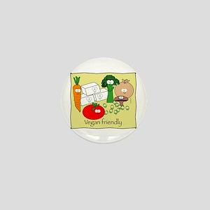 Vegan friendly Mini Button