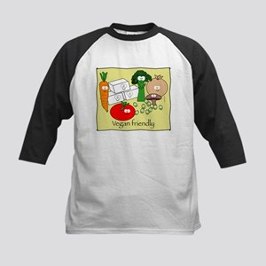 Vegan friendly Kids Baseball Jersey
