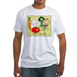 Vegan friendly Fitted T-Shirt