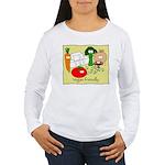 Vegan friendly Women's Long Sleeve T-Shirt
