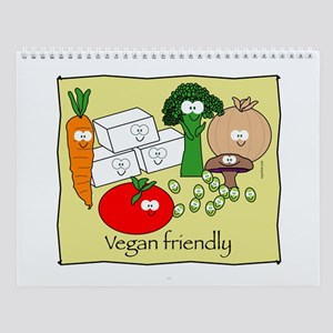 Vegan friendly Wall Calendar
