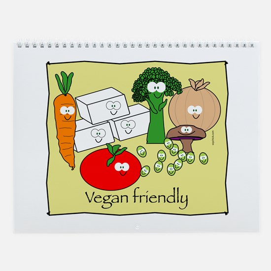 Vegan friendly Wall Calendar