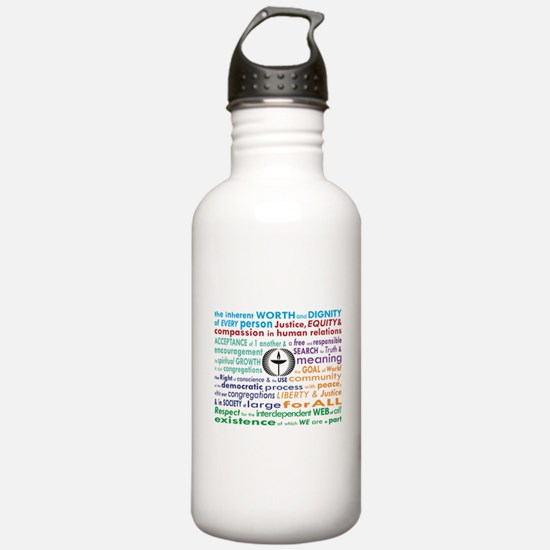 UU 7 Principles Water Bottle