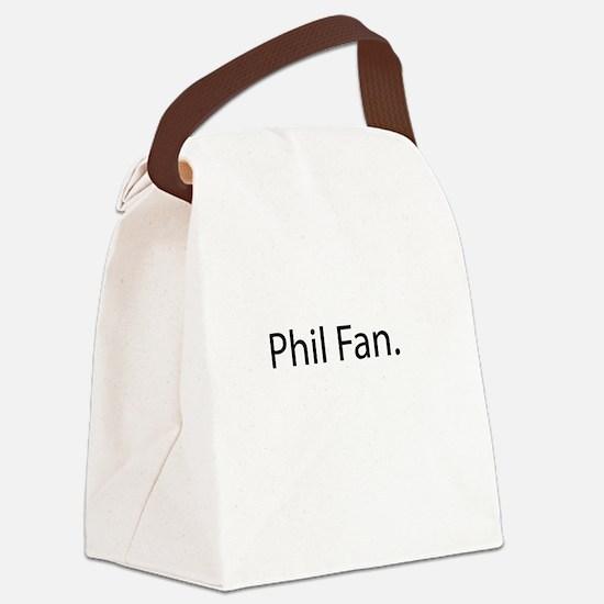 Phil Fan Canvas Lunch Bag