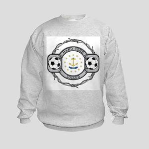 Rhode Island Soccer Kids Sweatshirt