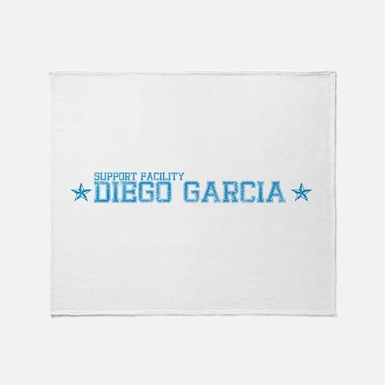 Support Facility Diego Garcia Throw Blanket