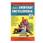 Postcards (pkg. 8)-'Andy's Encyclopedia'