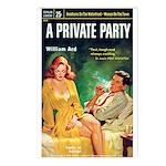 Postcards (pkg. 8) - 'A Private Party'